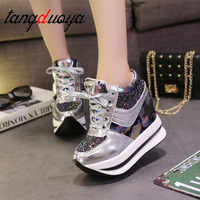 sneakers women shoes Fashion Women Casual Shoes 2019 Female Height Increasing Woman Platform shoes sneakers Wedges Ladie Shoes