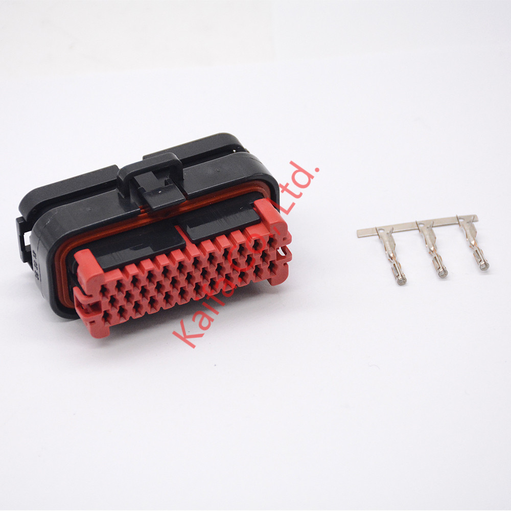 1set ECU plug 35 pin ECU 776164 automotive connector 770680-1 776273-1 Electrical Wire connector Plug стоимость