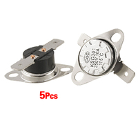 High Quality 5 x KSD301 NC Thermostat Temperature Control Switch 105 Celsius 250V 10A