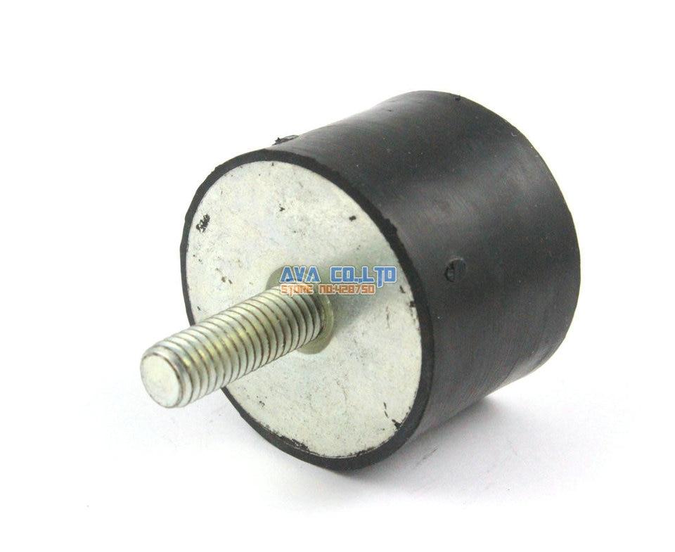 2 Pcs 40 x 30mm M8*23mm Male Female Rubber Anti Vibration Mount Bobbin Isolator