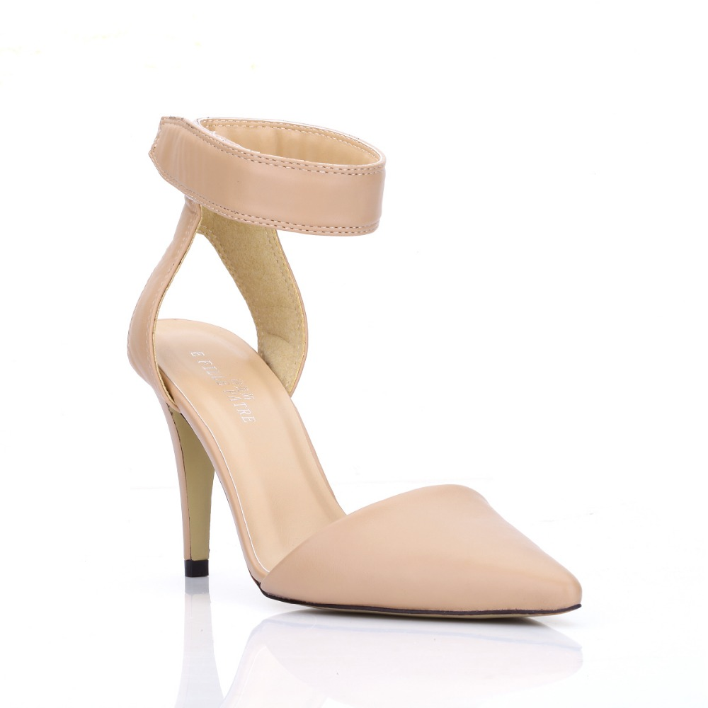 2016 Summer Newest Woman Shoes High Heels Sexy Closed Toe Pointed Toe Sandals Gladiator ...
