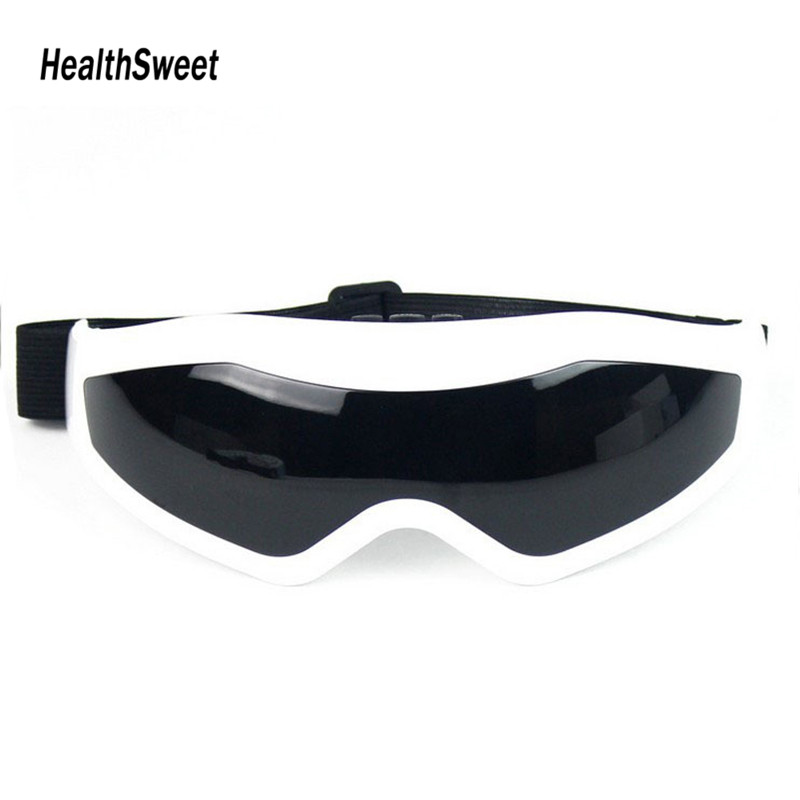 Healthsweet Health Care Eye Massager Comfortable Eyewear Glasses Eye Instrument Free Shipping free shipping new air pressure eye massager with mp3 6 functions dispel eye bags eye magnetic far infrared heating eye care