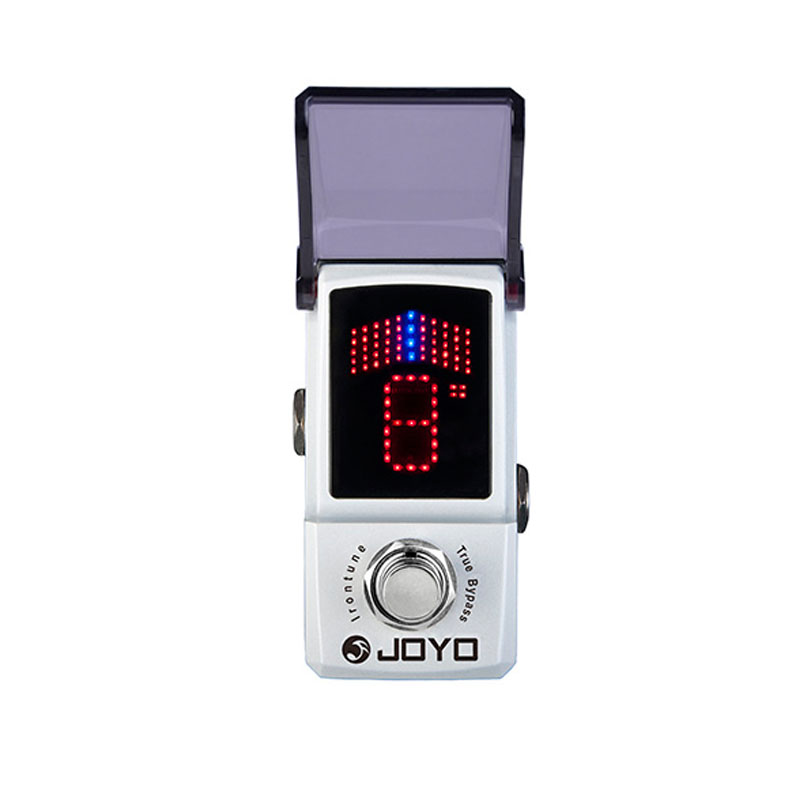 JOYO JF-326 Irontune Effect Pedal Mini Electric Bass Guitar Effect Pedal with Knob Guard True Bypass Guitar Parts aroma aos 3 octpus polyphonic octave electric guitar effect pedal mini single effect with true bypass
