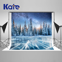 Kate Winter Backdrops For Photography Snow Tree Photography Backdrops Christmas Frozen Ice Backgrounds For Photo Studio