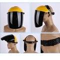 Новые рабочие защитные маски для лица из плексигласа и ПК Анти-шок анти-всплеск маска для рабочей сварки оборудование для безопасности приг...