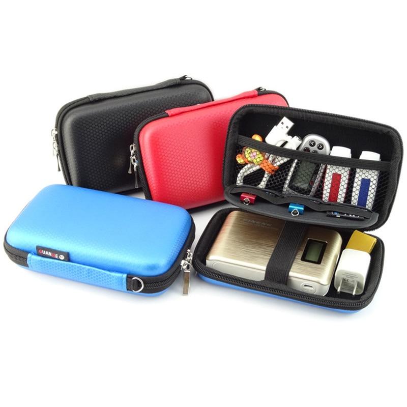 Draagbare elektronische gadgets EVA opbergtas voor HDD Power Bank USB - Home opslag en organisatie - Foto 2