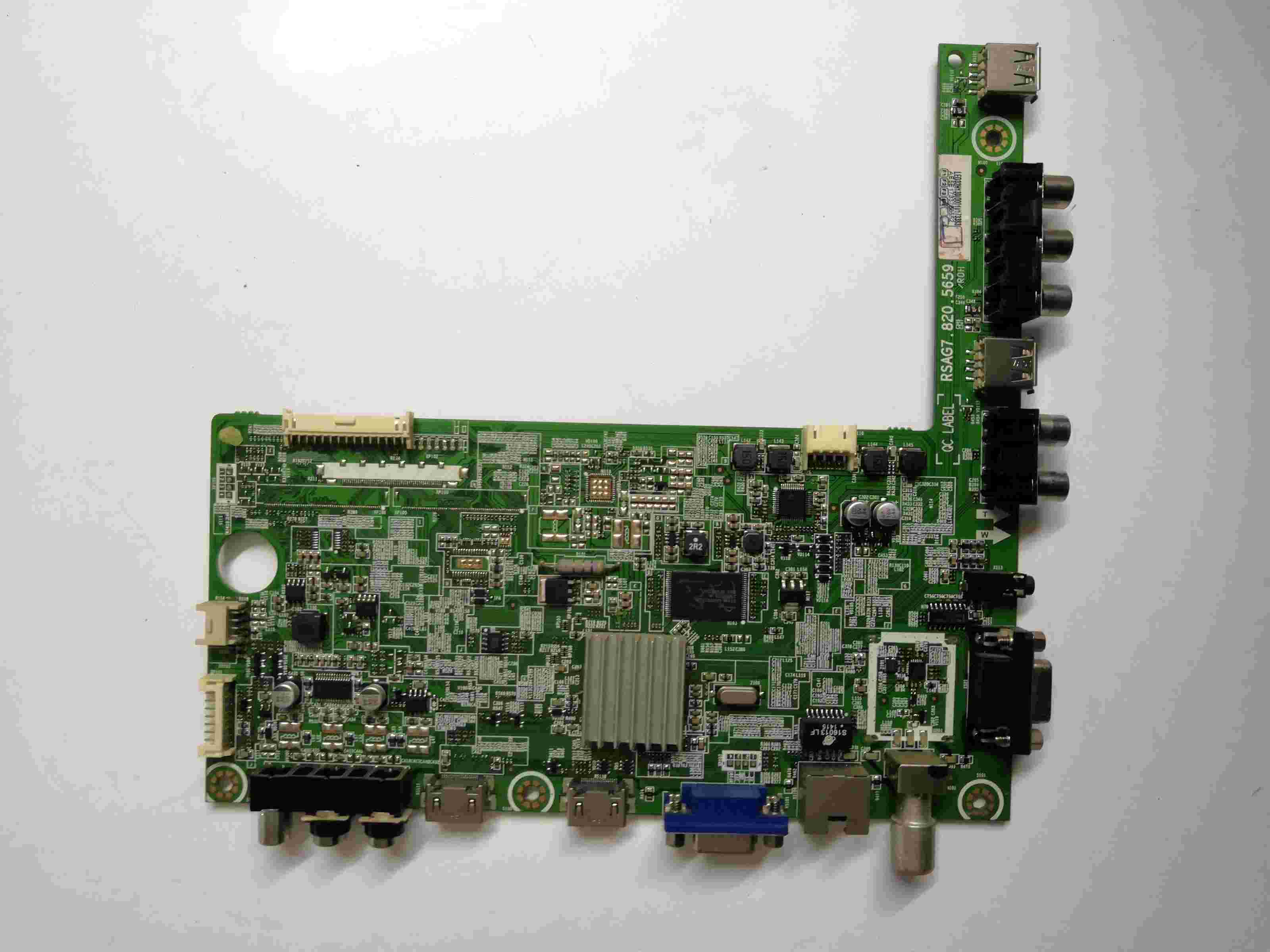 Main Board Power Board Circuit Logic Board Constant Current Board Led 32h130 Motherboard Rsag7.820.5659 Screen He315gh-e88 Audio & Video Replacement Parts