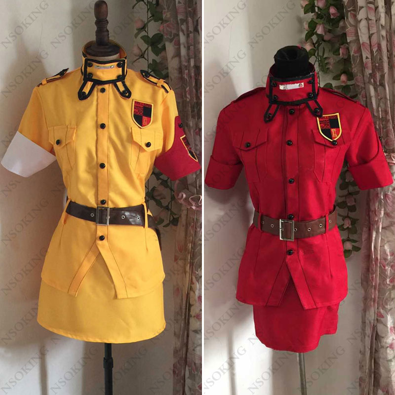 New Anime Hellsing Seras Victoria Cosplay Costume outfit custom made 3 Color