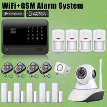 etiger homeoffice 24g wifi gsm wireless burglar alarmnetwork camera for security network security officer