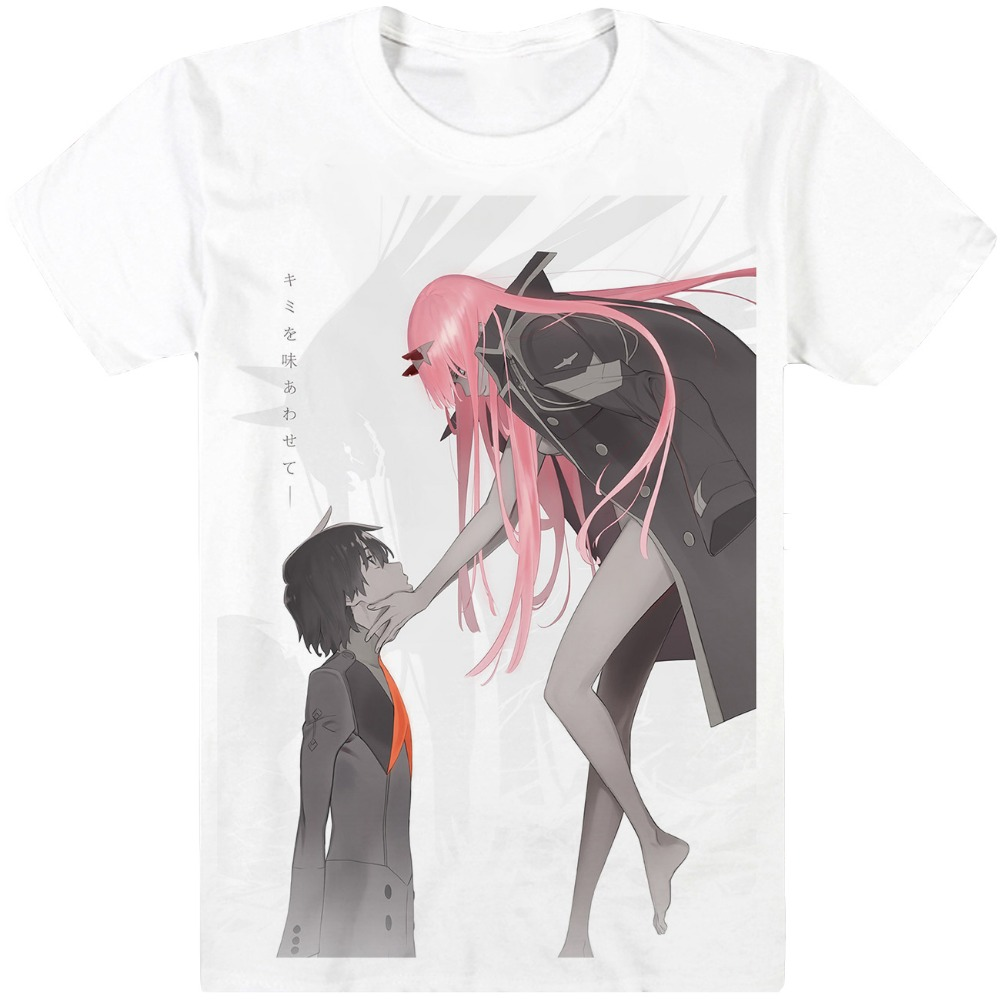 New DARLING in the FRANXX T-Shirt Cosplay Costume Masamune Izumi Anime Men T shirt Women Clothing Tees B ...
