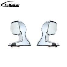 2 шт. автомобильные зеркала для слепых зон серебристого цвета, боковое плоское зеркало заднего вида, автомобильные аксессуары, широкоугольные Задние Зеркала