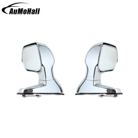 2 Pcs Car Universal Blind Spot Mirrors Silver Color Side Rear View Flat Mirror Auto Accessories