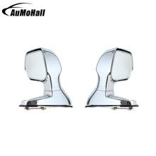 2 Pcs  Car Universal  Blind Spot Mirrors Silver Color Side Rear View Flat Mirror  Auto Accessories Wide Angle Rear Mirrors
