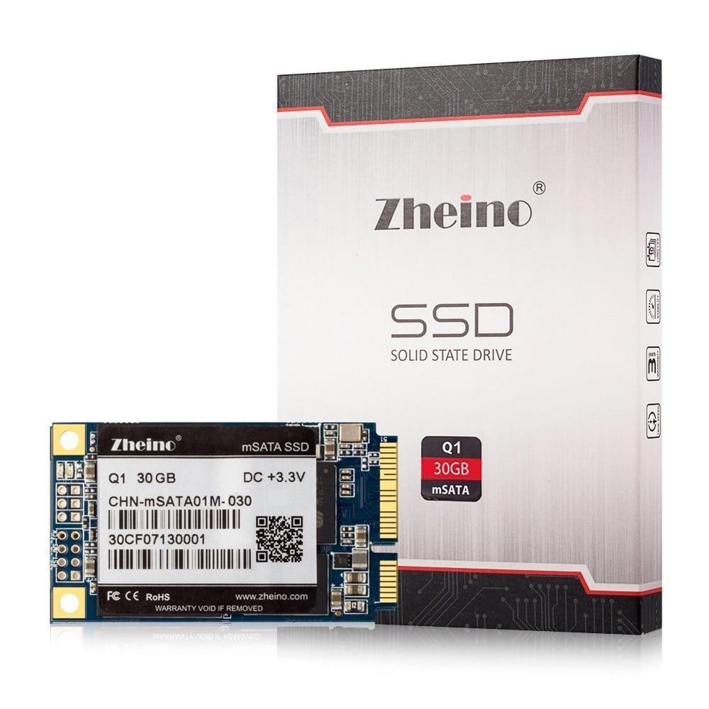 Zheino Q1 30GB SSD Mini PCIE mSATA SATA III 6GB S SSD 30GB Solid State Drive