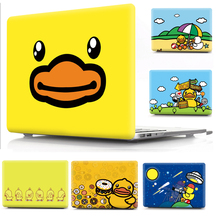 Yellow Duck Print Cover Case Laptop Case For Apple Mac MacBook Air Pro Retina 11 12 13 15 for mac Pro 13.3 15.4 inch Touch Bar best screwdriver fix macbook repair tool kits set for air retina mac pro iphone