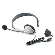 Video Game Series Stylish Headset Headphone with microphone for XBox 360 – Grey