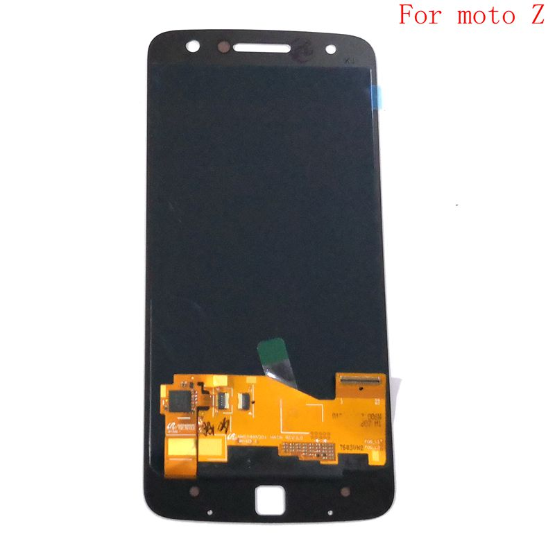 Amoled para motorola moto z droid xt1650 Xt1650-01 Xt1650-03 display lcd + tela de toque vidro digitador assembléia pantalla