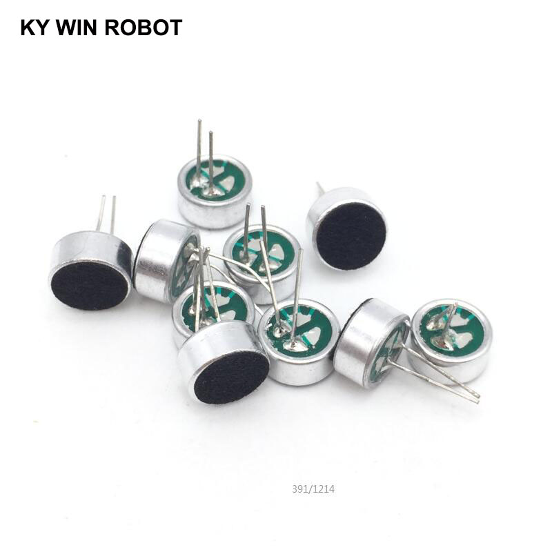 10 PCS/LOT 9x4.5mm 9745 Microphone Electret Microphone With 2 Pin Pick-up