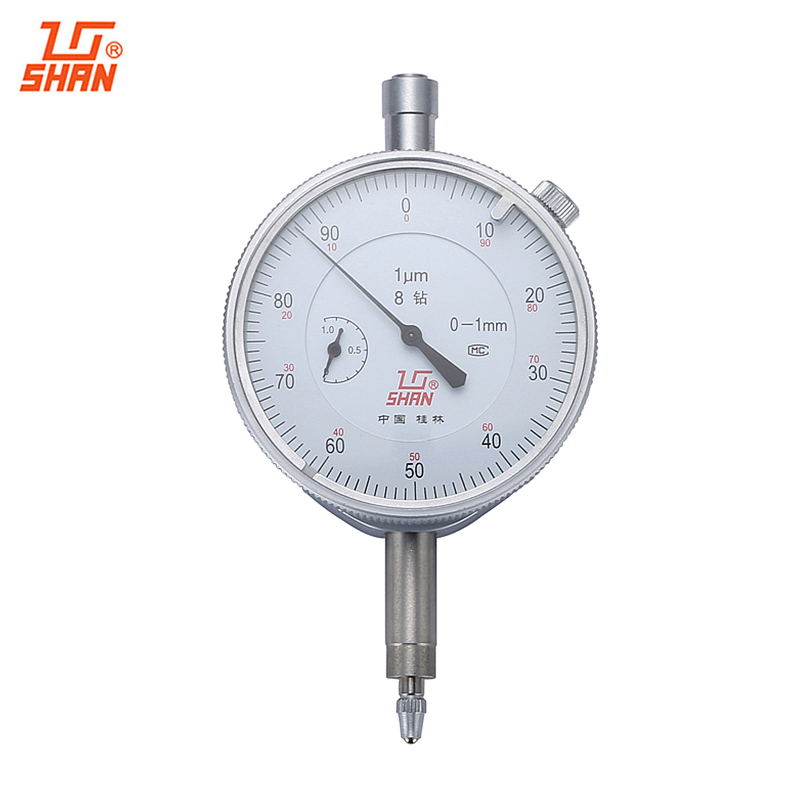 все цены на SHAN Dial Indicator 0-1mm/0.001mm Dial Gauge Dial Test Indicators Shockproof Micrometer Caliper Measuring Tools онлайн