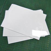 Быстрая гибкие магниты на холодильник белая доска Водонепроницаемый Дети Рисование доска для сообщений Магнитная холодильник блокнот