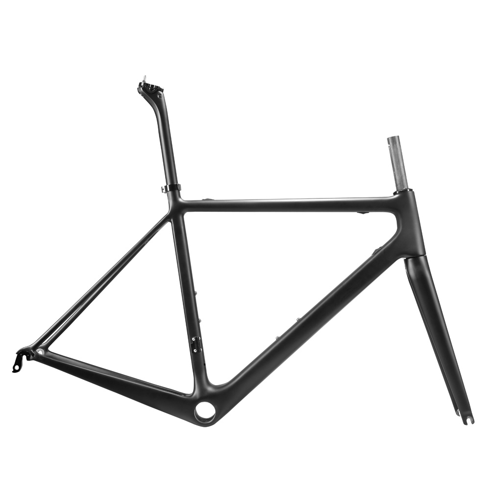 OG-EVKIN Light 2018 Bicycle Carbon Frame Road Carbon China UD Matt PF30 Bike Frameset 700C Bicycle Road Bike Frame Cycling 54cm 2018 t800 full carbon road frame ud bb86 road frameset glossy di2 mechanical carbon frame fork seatpost xs s m l og evkin