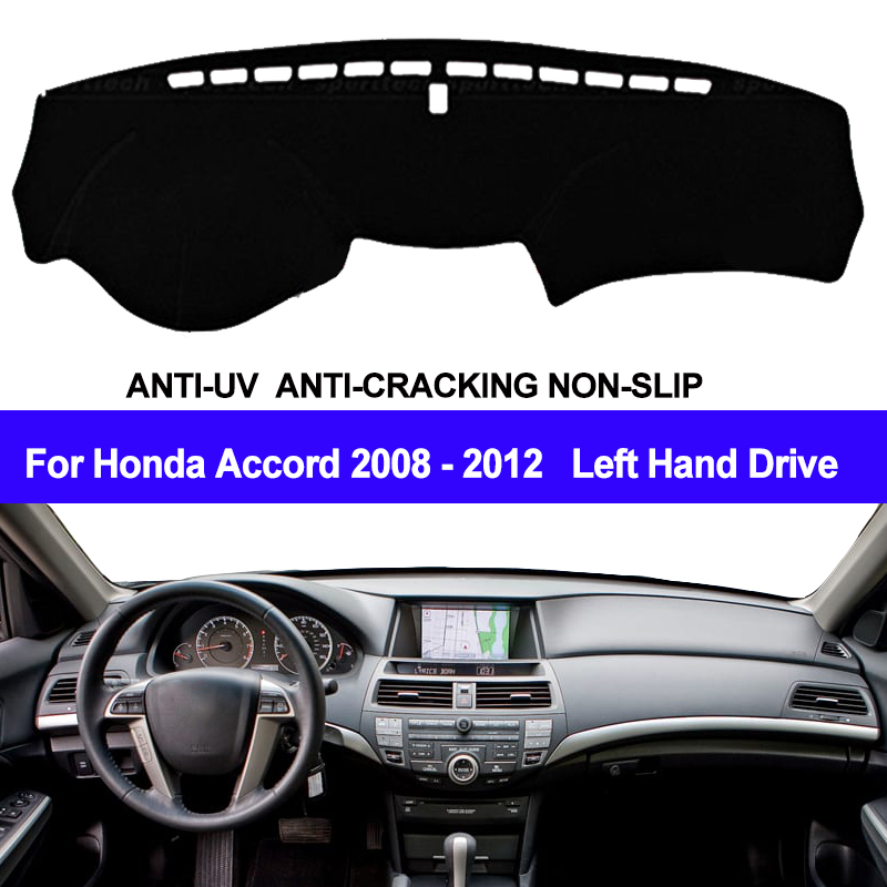 TAIJS Car Dashboard Cover Dash Mat Dash Board Pad Carpet Automobile Dashmat Anti-UV For Honda Accord 2008 2009 2010 2011 2012TAIJS Car Dashboard Cover Dash Mat Dash Board Pad Carpet Automobile Dashmat Anti-UV For Honda Accord 2008 2009 2010 2011 2012