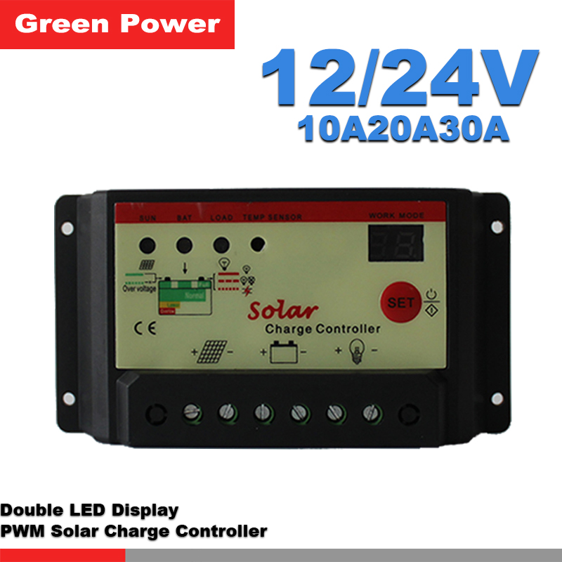 10a20a30a 12v 24v Solar Charge Controller Solar Regulator