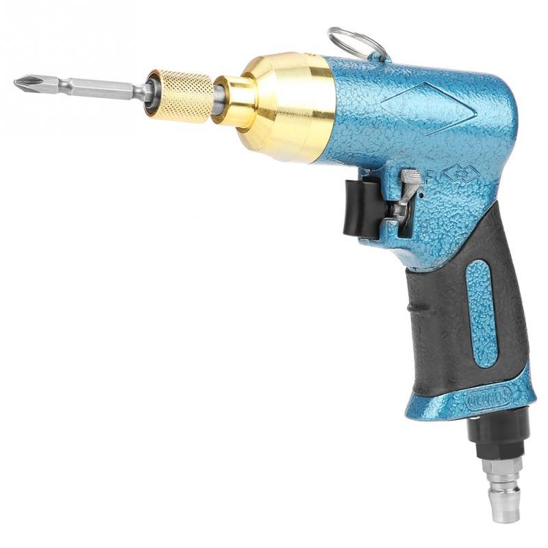 5H 8000rpm Pneumatic Screwdriver Handhold Air Straight Air Screwdriver Bits Set Power Tools (Screwdriver Bit Random Color) Pneumatic Tools     - title=