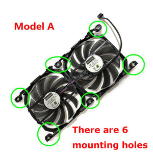 Image 2 - 2pcs/set 4Pin CF 12915S GPU Cooler Fan VGA Card Fan For InnoVISION INNO3D Graphics Video Cards Cooling as Replacement