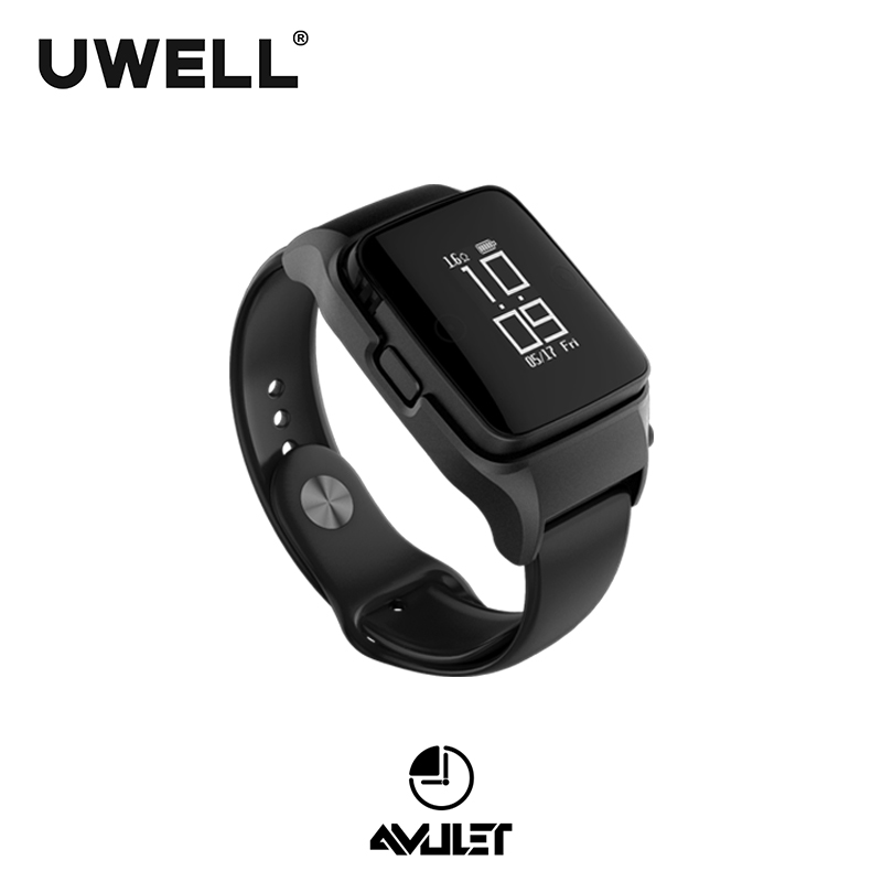 In Stock UWELL Amulet Pod System Watch style 2ml capacity 370mAh 10W E cigarette Pod System