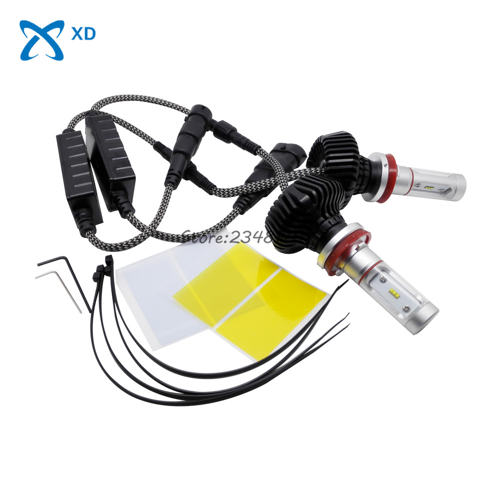 H8 H9 H11 Car LED Headlight 30W 3000LM Single Beam Light Auto Lamp white 6000K Bulb for Hyundai Mazda MINI Cooper Nissan Opel 12v led light auto headlamp h1 h3 h7 9005 9004 9007 h4 h15 car led headlight bulb 30w high single dual beam white light