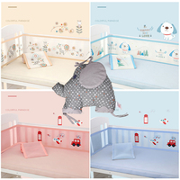 Baby Bed Bumper Breathable Mesh Crib Bumpers Baby Bedding Crib Liner Baby Cot Bed Around Protector