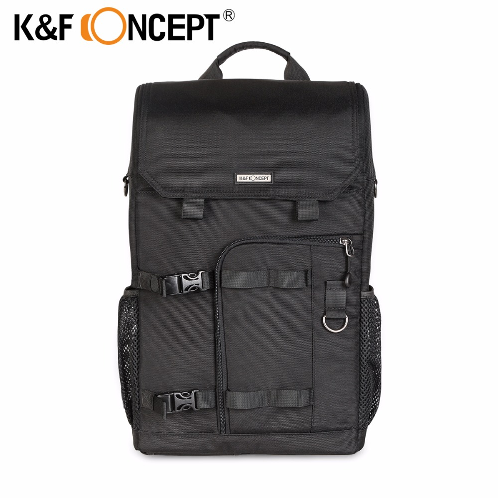 K&F CONCEPT Professional Casual Modern Camera Backpack Case for Canon and all DSLR Digital Cameras for 1 Camera+Multiple lenses meike dslr camera built in 2 4g battery grip for canon eos 7d mark ii as bg e16