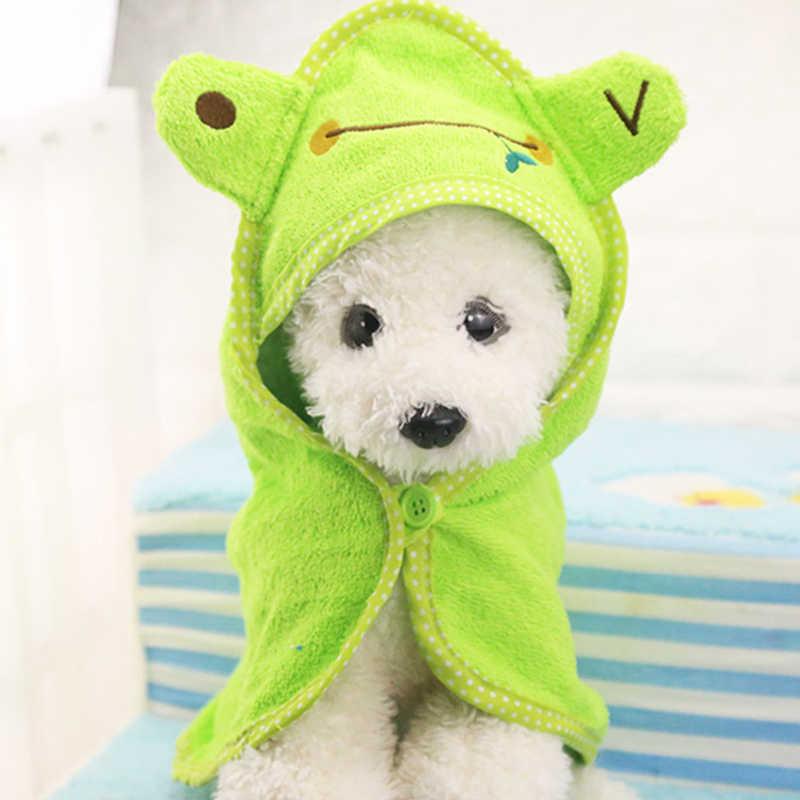 Милое полотенце для кошек и собак, мягкое сушильное полотенце для домашних животных для собак, кошек, толстовки для щенков, супер абсорбирующие халаты, материалы для чистки собак