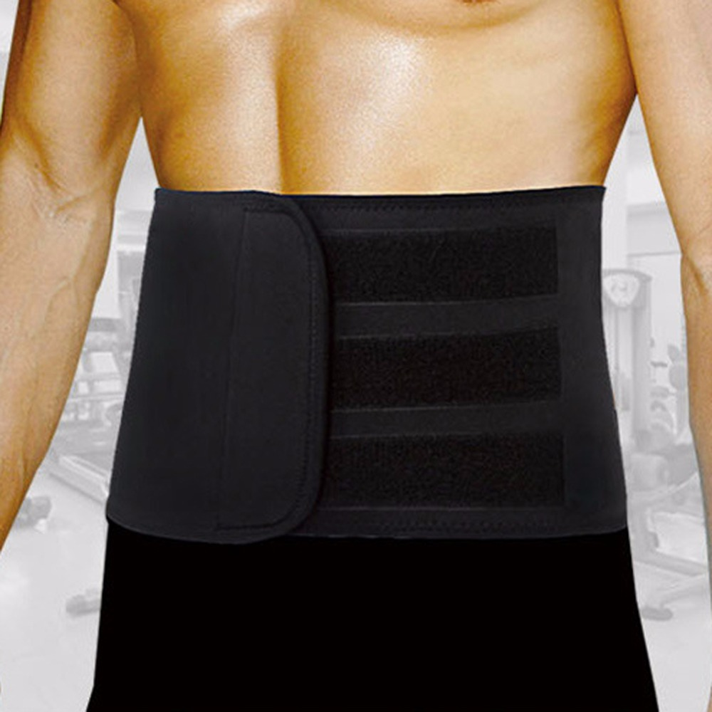 Breathable Slimming Belt Abdominal Lumbar Support Brace ...