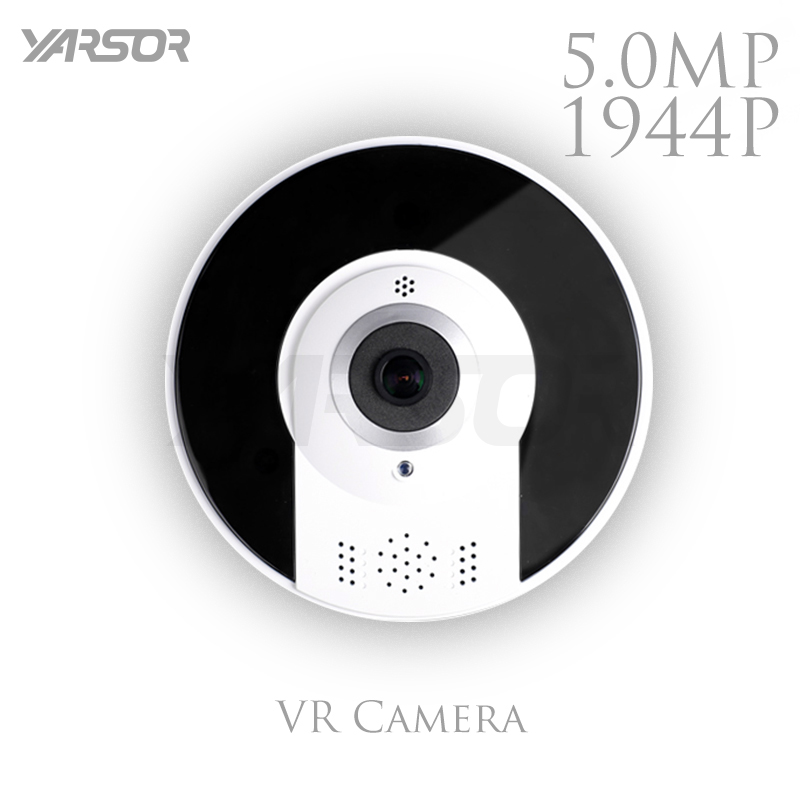 VR360S5   Super HD 5.0MP Wireless Fisheye 360 degree VR Camera Home Security Night Vision Indoor Use Surveillance IP Camera нивелир ada cube 2 360 home edition a00448