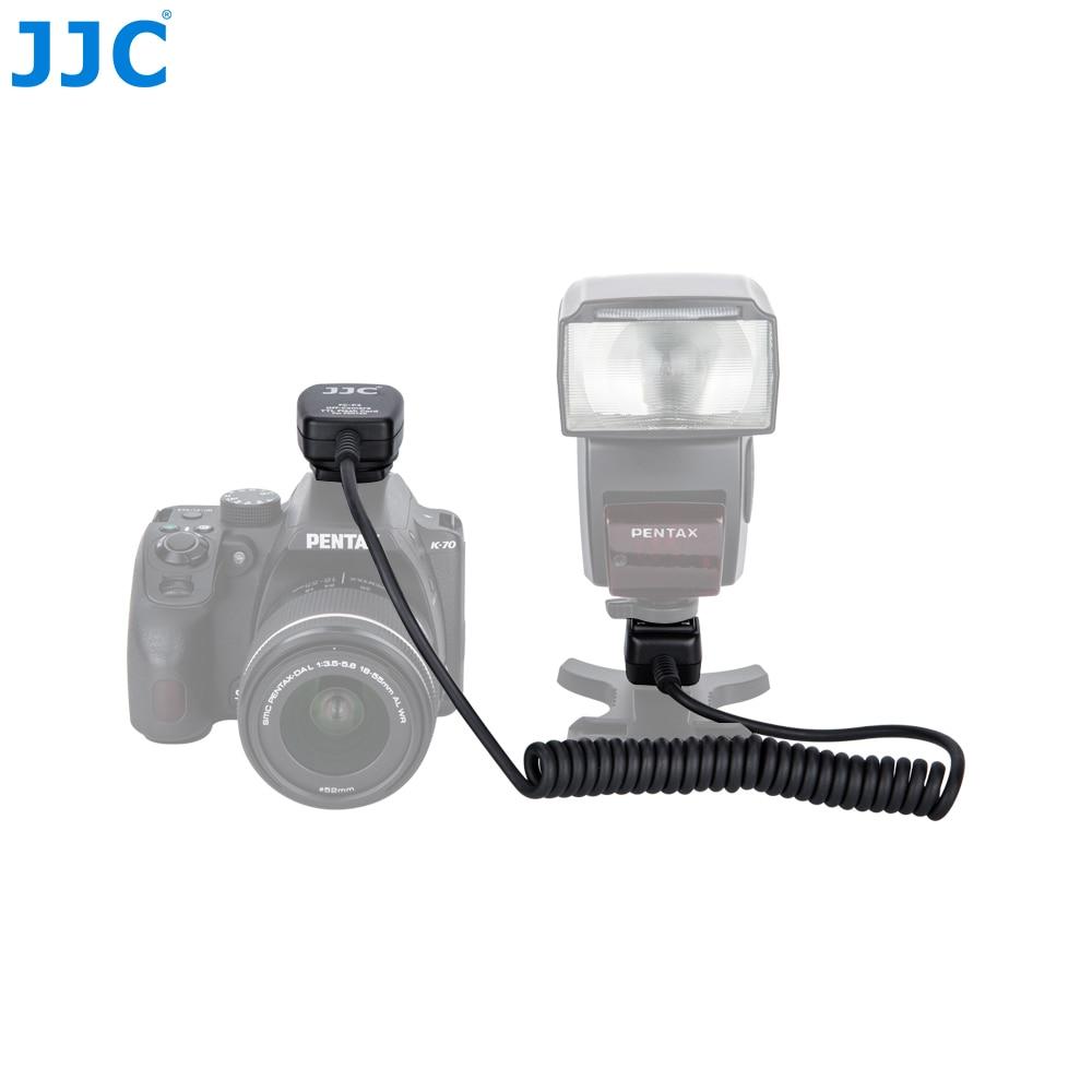 JJC 1.3m TTL Off Camera Flash Cords Hot Shoe Sync Remote Cable for PENTAX Speedlite AF160FC/AF540FGZ II/AF540FGZ/AF360FGZ II бинокль pentax papilio ii 8 5x21