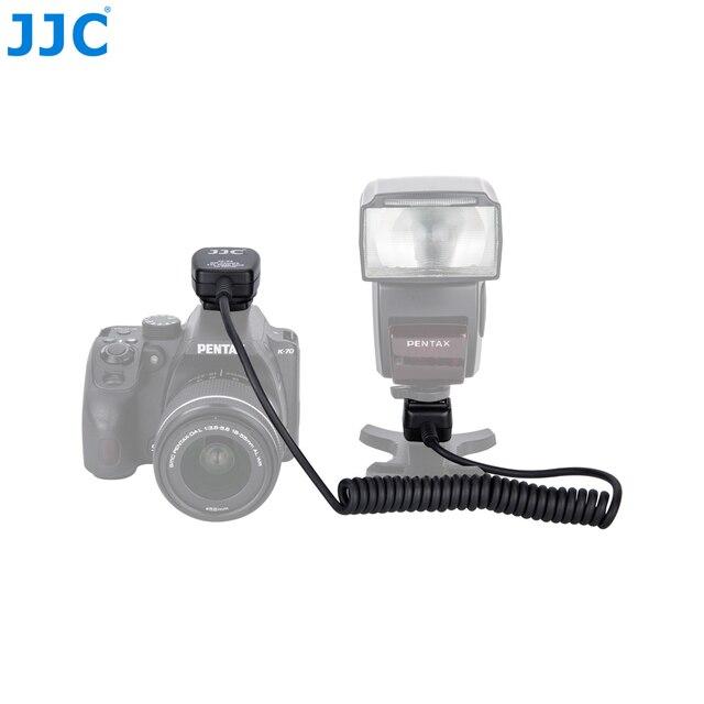 JJC 1.3m TTL قبالة فلاش كاميرا الحبال الحذاء الساخن مزامنة كابل عن بعد ل PENTAX Speedlite AF160FC/AF540FGZ II/AF540FGZ/AF360FGZ II