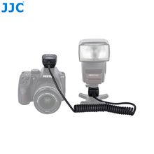 Jjc 1.3m ttl fora da câmera flash corps sapata quente sincronização cabo remoto para pentax speedlite af160fc/af540fgz ii/af540fgz/af360fgz ii