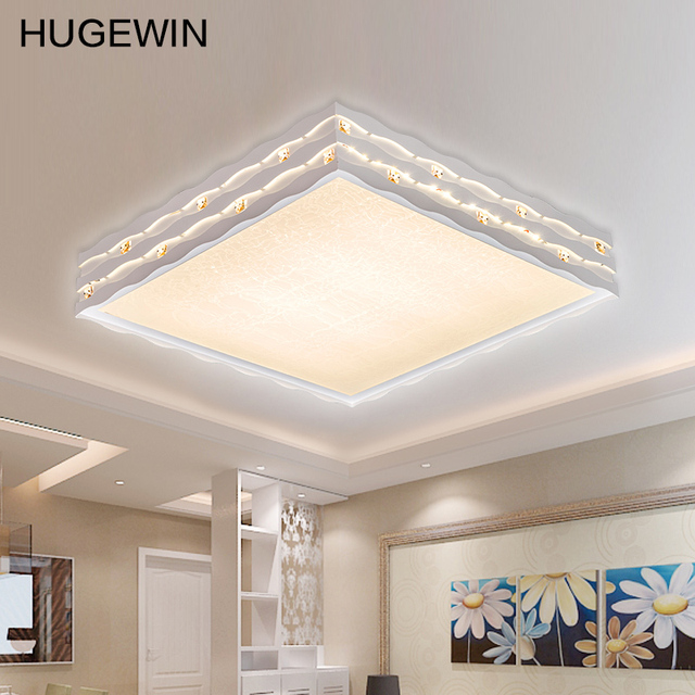 Dimmable Light 32W LED Ceiling Lamp Square Shape Adjustable Color For  Bedroom Living Room Nice Light UHXD328