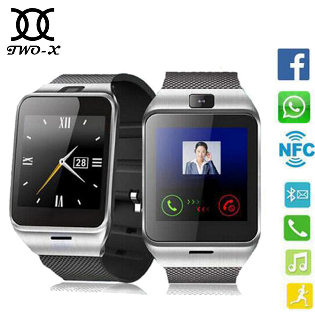 2016 Aplus GV18 Smart Watch Phone GSM NFC Camera Wrist SIM Card Smartwatch For Samsung