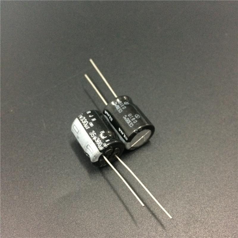 100pcs 150uF 35V NCC KZE 8x11.5mm 35V150uF Low ESR Motherboard Capacitor