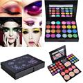 fresh 14.2cm x 11cm x 3cm EyeShadow 39 Colors Makeup Palette Kit Foundation Blusher Cosmetic Lipstick Tools Anne