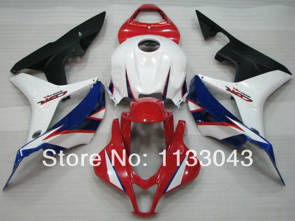 100%Fit Injection Fairing kits red white blue black for HONDA CBR 600RR 2007 2008 F5 07 08 CBR600RR 07 08 ABS fairing parts #11R for honda cb400 nc23e vtec i ii iii silicone radiator hose kit1998 2007 blue 5pieces colors red blue black
