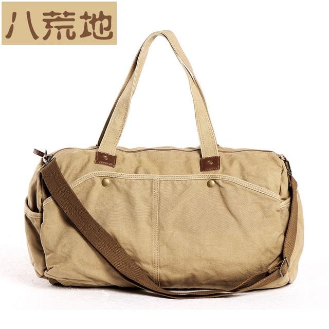2 Colors Virgin Land Canvas Totes Messenger Bag Black Casual Women Handbags Men Brand Vgl2377