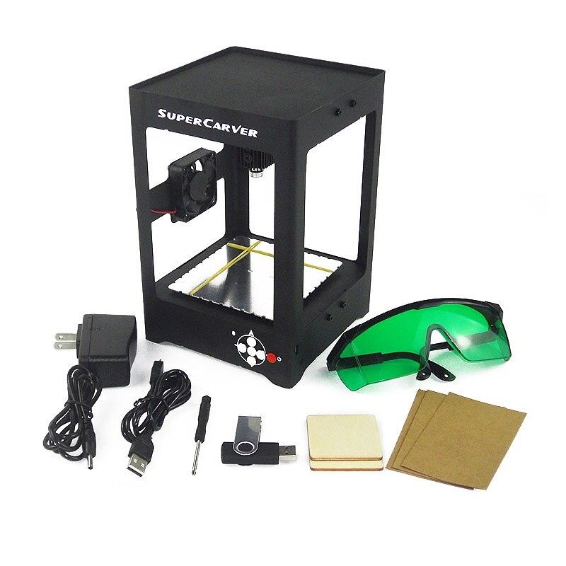Portable micro DIY laser engraving machine LOGO marking lettering OEM DIY tools 1000MW