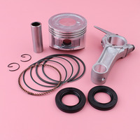 68mm Piston Ring Connecting Rod Crank Oil Seal Kit For Honda GX160 5.5HP GX 160 Mower Engine Motor Part