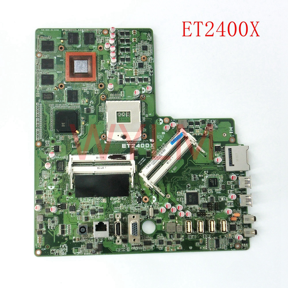 ET2400X all-in-one mainboard REV 1.03 For ASUS ET2400X Desktop motherboard 100% Tested Working Well free shipping free shipping qlif 032 790381200610r 490381200200r vs17e one board to send screen line 100% tested working