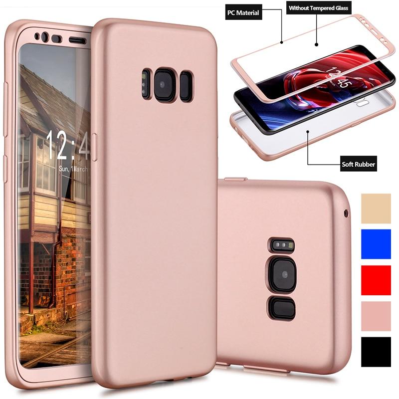 Luxus 360 Grad Fullcover Weiche Tpu Kratzfest Fall Für Samsung Galaxy S8/s8 Plus Angepasste Hüllen Handys & Telekommunikation
