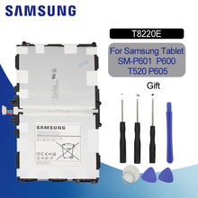 Samsung Original Tablet Battery 8220mAh T8220E For Samsung GALAXY Note 10.1 Tab Pro 10.1 P600 P601 P605 SM-P607 SM-T520 SM-T525